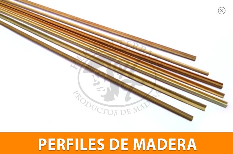 Hernan terraza for Perfiles de madera