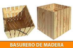 basurero-madera